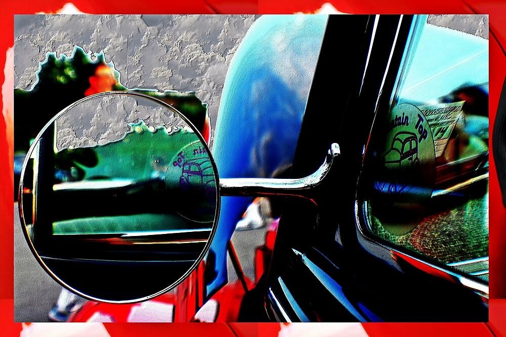 Car mirror bump map by Karl Rose