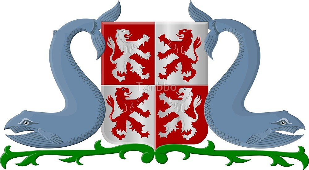 Zaanstad Coat of Arms, Netherlands by Tonbbo