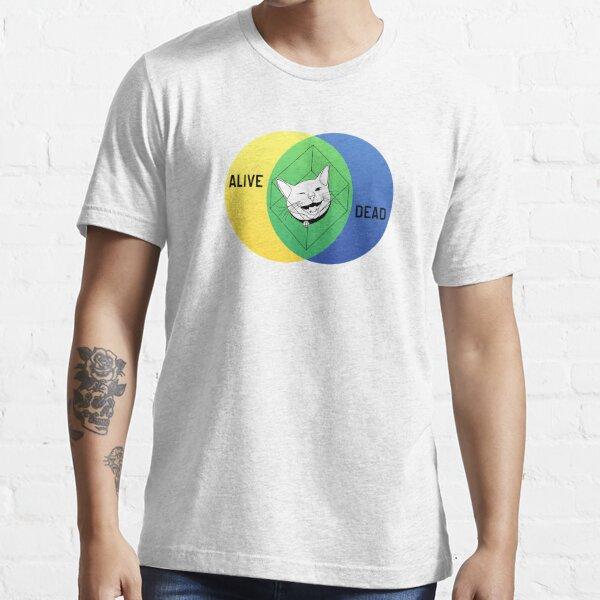 Diagramme de Venn de Schrödinger T-shirt essentiel