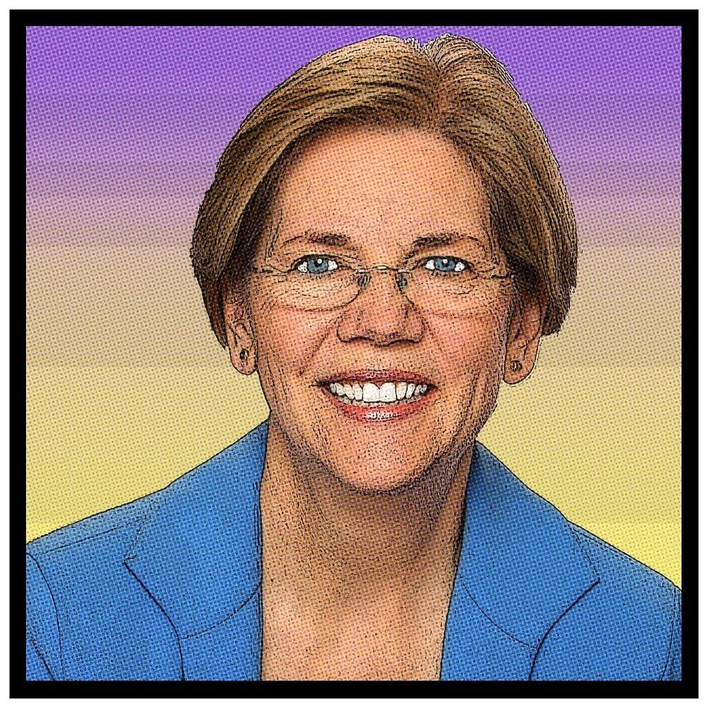Elizabeth Warren (Comic Book style) by starkle