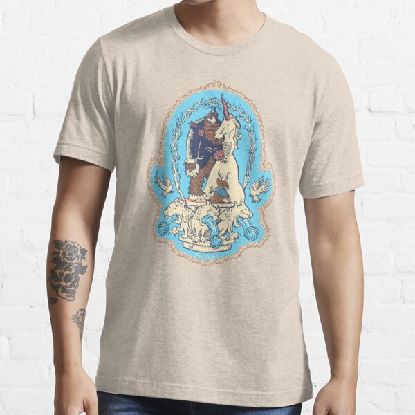 Bigfoot's Big Day - Wedding of Sasquatch & Unicorn Essential T-Shirt