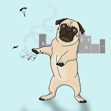 Attack of the Massive Pug!!! by prettyinink
