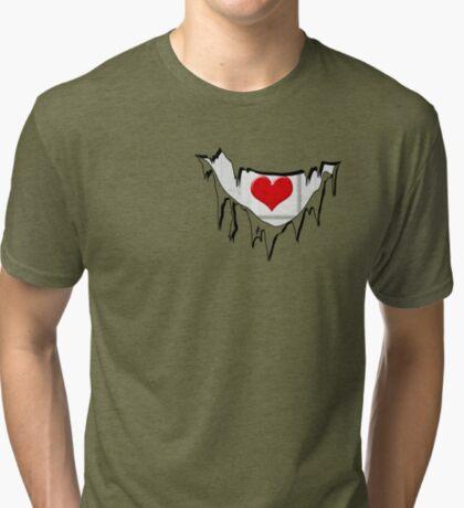 Ripped Tri-blend T-Shirt