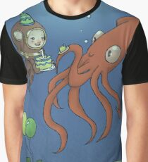 Cal's Underwater Birthday Party Graphic T-Shirt