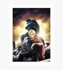 Fullmetal Alchemist: Elric Brothers Art Print