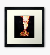 Dracarys Game Of Thrones Framed Print