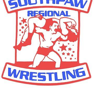 Southpaw Regional Wrestling USA  by GuitarManArts