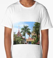 Penang Temple. Long T-Shirt