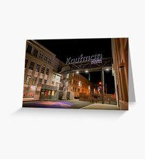 Kaufman Astoria Greeting Card