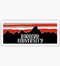 Radford University Sticker