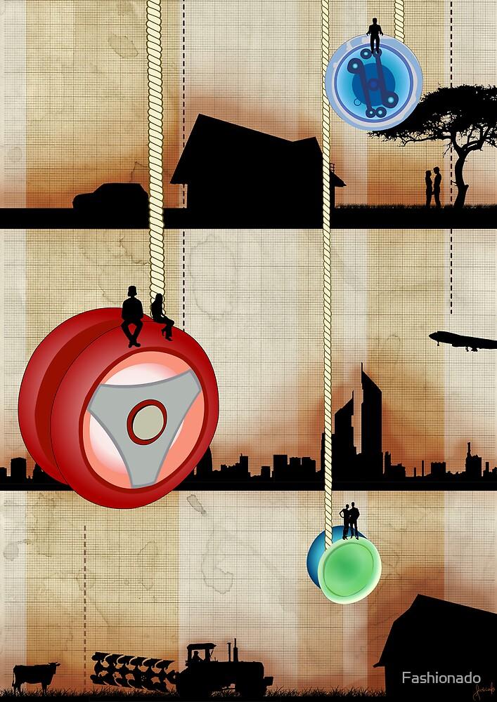 Up and Down Like a Yo-Yo by Fashionado