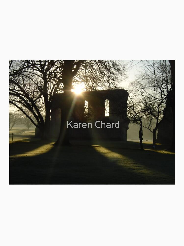 winter sunshine at Glastonbury Abbey by MadeInStreet