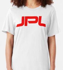 Jet Propulsion Laboratory (JPL) Logo Slim Fit T-Shirt