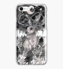 Moonlit Jackalope iPhone Case/Skin