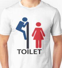 TOILET t-shirt  T-Shirt