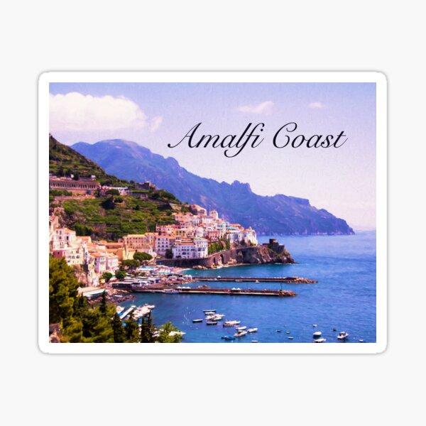Treasures of Amalfi Coast  Sticker