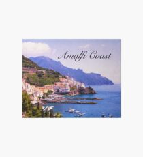 Treasures of Amalfi Coast  Art Board