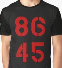 86 45 / Remove Trump Graphic T-Shirt