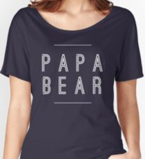 Papa Bear Women's Relaxed Fit T-Shirt