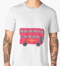 Red London Bus Men's Premium T-Shirt