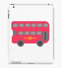 Red London Bus iPad Case/Skin