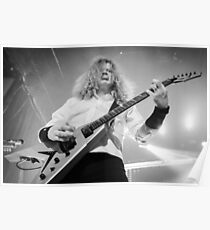 Megadeth's Dave Mustaine Poster