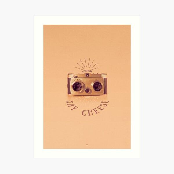 Everybody - Say Cheese Kunstdruck