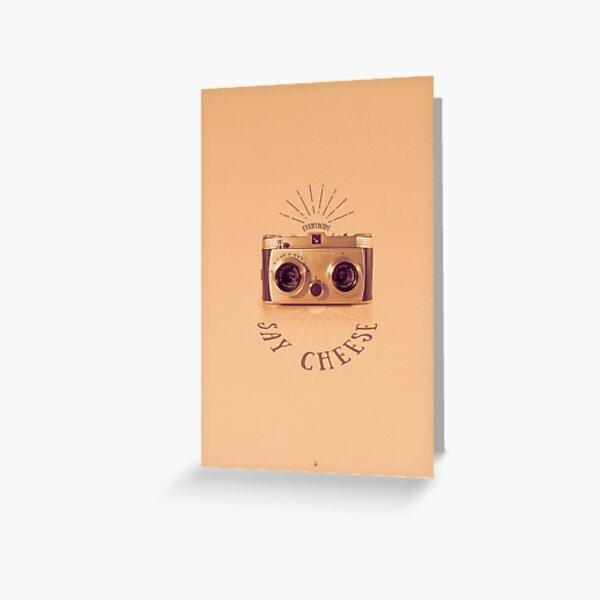 Everybody - Say Cheese Grußkarte