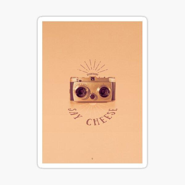 Everybody - Say Cheese Sticker