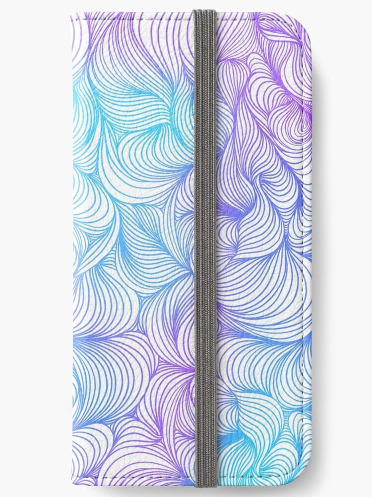 Blue and Purple Swirls by nykiway