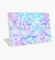 Blue and Purple Swirls Laptop Skin