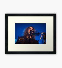 Megadeth's David Ellefson Framed Print