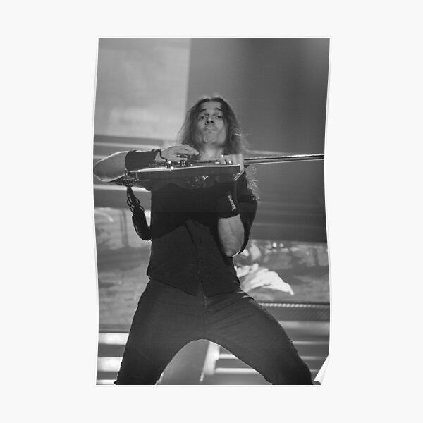 Megadeth's Kiko Loureiro in action Poster