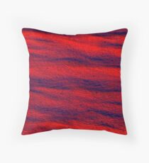 Wildfire Red Throw Pillow