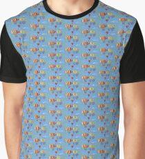 Kissing Fish Graphic T-Shirt