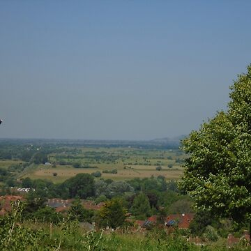 View from the Lanes around Glastonbury Tor by MadeInStreet