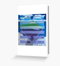 Hexagram 31: Hsien (Wooing)  Greeting Card