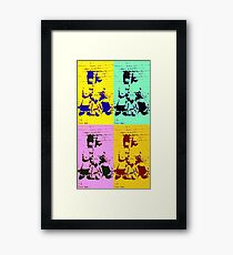 The Simpsons Framed Print