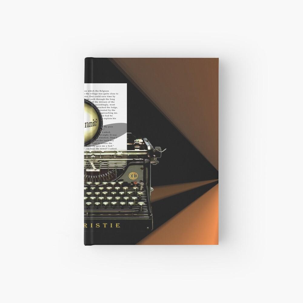 Agatha Christie kennt Whodunnit! Notizbuch