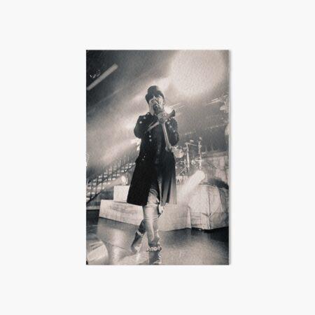 King Diamond live shot Art Board Print