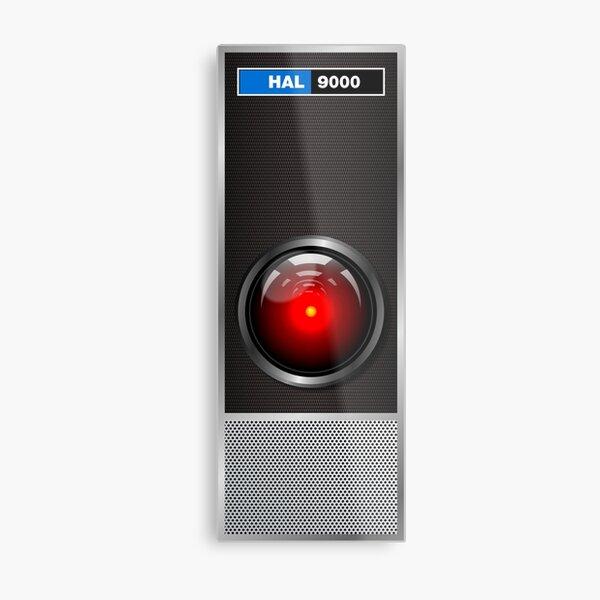 HAL 9000 panel Metal Print
