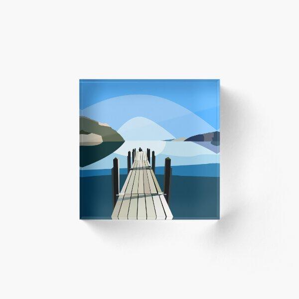 Boardwalk Acrylic Block