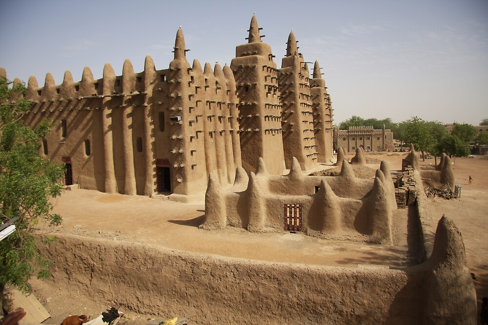 Djenne Mosque  by Beaner