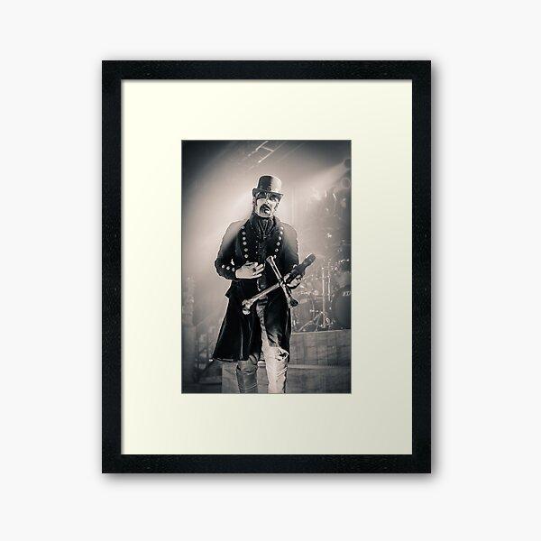 King Diamond Framed Art Print