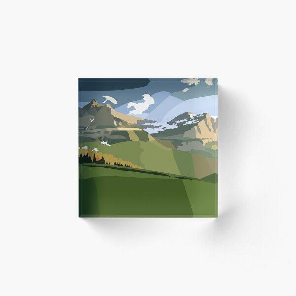 Meadows Acrylic Block