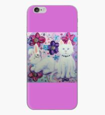 Bunny and Cat iPhone Case