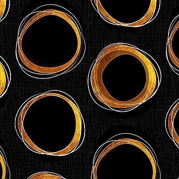 Solar Eclipse MCM Gold-Black de miavaldez