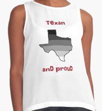 Texas Pride - Straight Contrast Tank