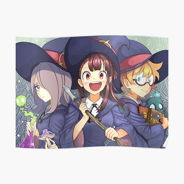 Little Witch Academia Póster