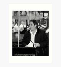 Stefan Nicholson - Poetry@Fed Square Art Print